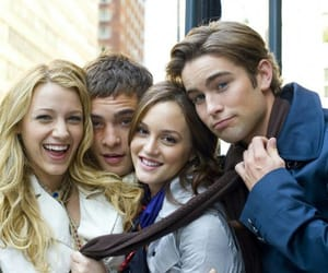 blair waldorf, blake lively, and Chace Crawford image