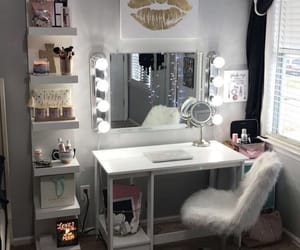 bedroom, goals, and gold image