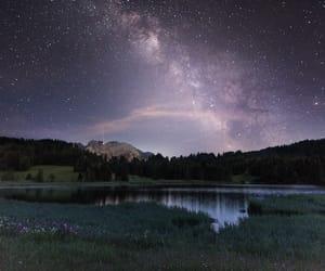 lake, landscape, and mountain image