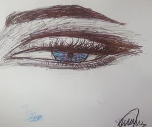 black, Bleu, and drawing image