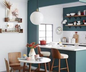 kitchen, home, and decoration image