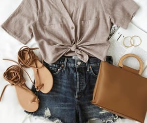 bag, outfit, and shoes image