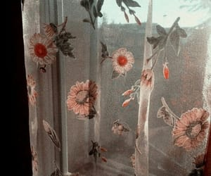 aesthetic, flowers, and vintage image