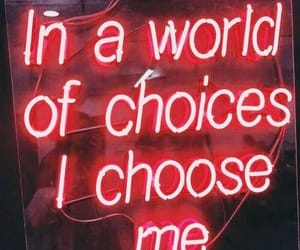 light, red, and quotes image