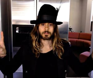 30 seconds to mars, peace and love, and jared leto image