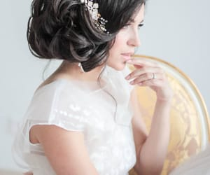 etsy, wedding headpiece, and wedding hair pins image