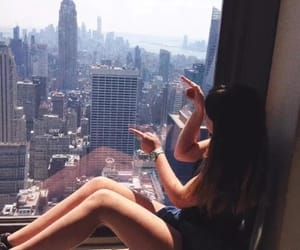 empire state, fashion, and girl image