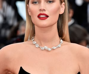 cannes and Toni Garrn image
