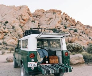 travel, beach, and car image