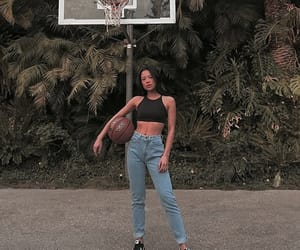 aesthetic, Basketball, and girl image