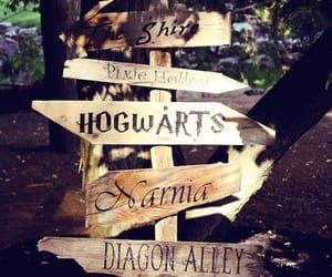 harry potter, hogwarts, and narnia image