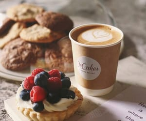 coffee, beautiful, and Cookies image