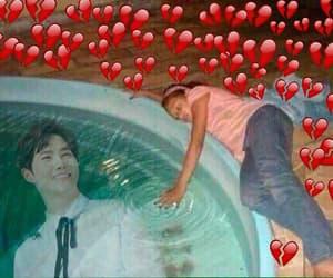 hearts, pink, and chanyeol baekhyun image
