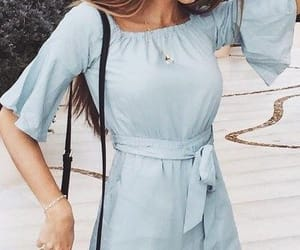 blue, fashion, and rompers image