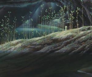 anime, princess mononoke, and forest image