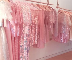pink, aesthetic, and dress image
