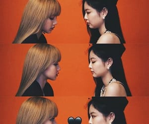lisa, jennie, and blackpink image