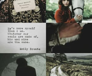 book, emily bronte, and love story image