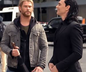 brothers, gif, and Marvel image