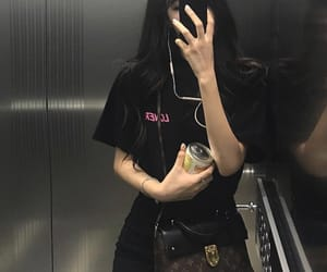 bag, black, and dark image