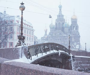 cold, russia, and snow image