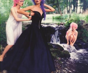 Christian Lacroix, editorial, and haute couture image