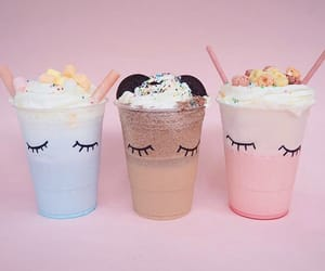 chocolate, cotton candy, and cream image