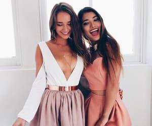fashion, girls, and smile image