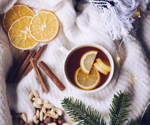 Cinnamon, lemon, and winter image