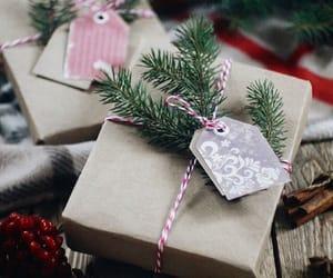 winter, christmas, and gift image
