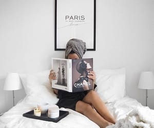 chanel, paris, and white image