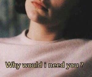 girl, pink, and i need you image