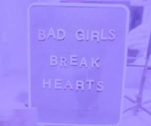 purple, aesthetic, and bad girls image