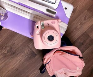 bag, camera, and fuji image