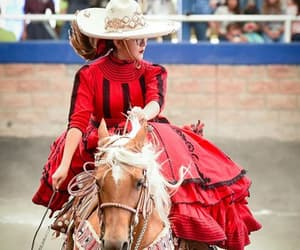 dress, adelita, and vestirse de mexico image