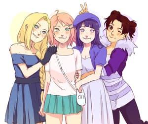 anime friends image