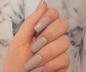 nails, couple, and style image