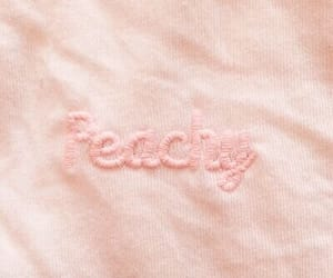 peachy, pink, and peach image