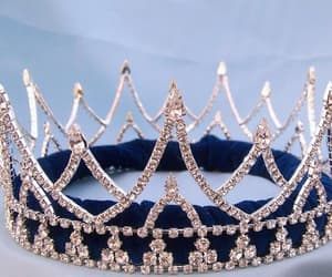beautiful, princess, and crown image