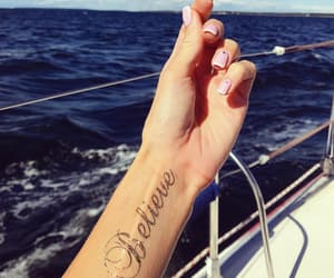 believe, inspiration, and sailing image