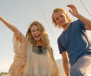 lily james and mamma mia 2 image