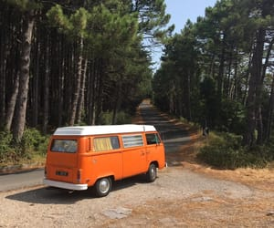 travel, vw, and at the end of the world image