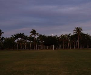 sky and soccer field image