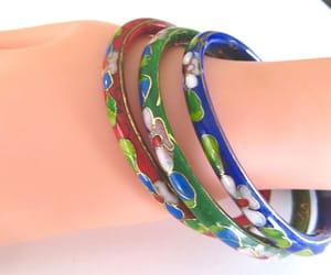 etsy, vintage bracelet, and bangle bracelets image