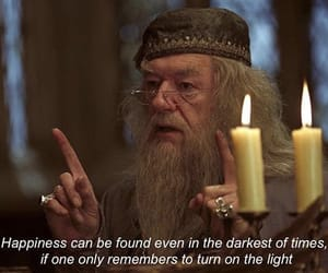 dumbledore, harry potter, and life image