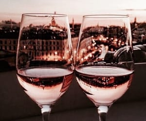drink, city, and wine image