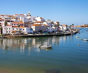 algarve, church, and lagoa image