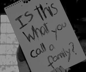 family, sad, and sleeping with sirens image