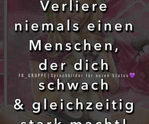 facebook, german, and quote image