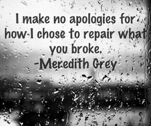 quotes, grey's anatomy, and meredith grey image